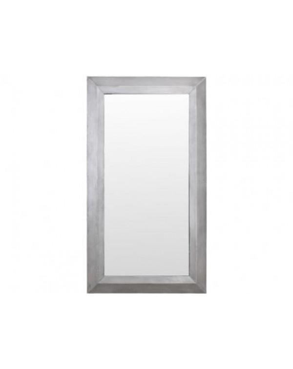 Libra Belmore Concrete Rectangular Mirror